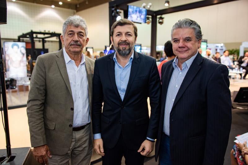 Lelio Matias, Elcio Batista e Chico Esteves