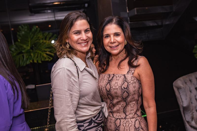 Luciana Borges e Maria Lucia Negrao