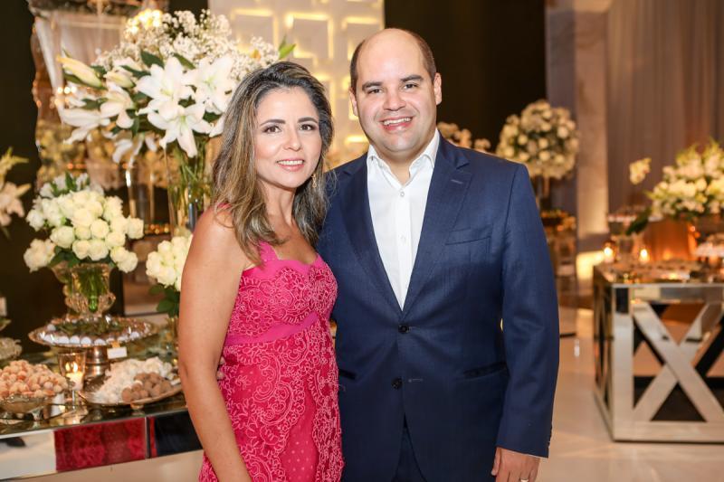 Patricia e Guilherme Soares,