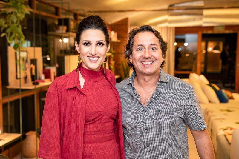 Brenda Rolim e Rodrigo Parente