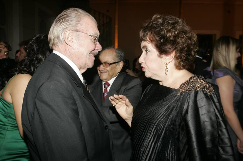 Jose Sarney e Leda Maria
