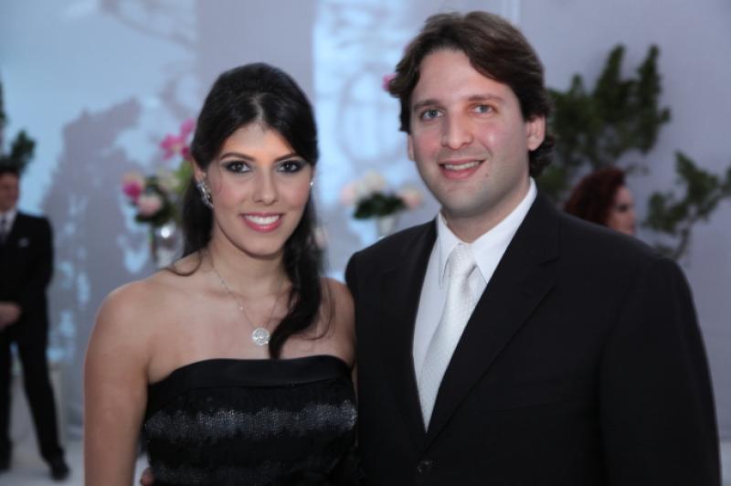 Flavia Laprovitera e Daniel Otoch