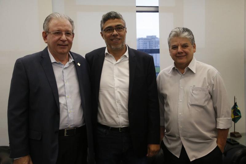 Ricardo Cavalcante, Ricardo Petral e Chico Esteves