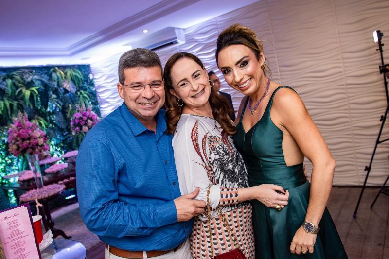 Fernando Salomao, Debora Salomao e Mabel Portela