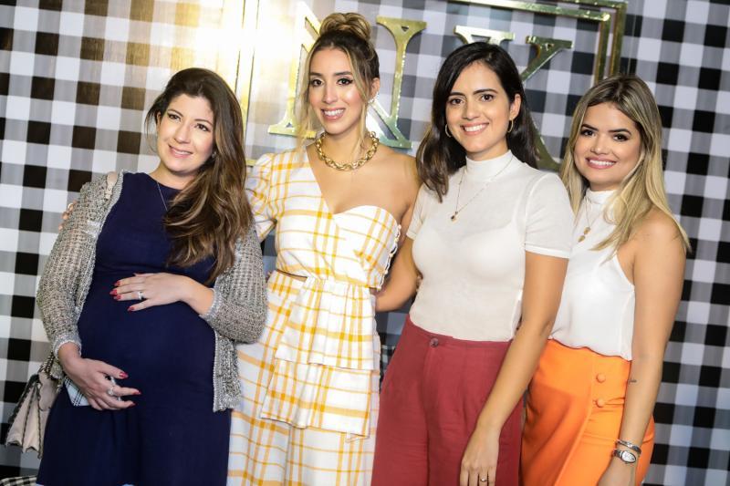 Renata Aguiar, Natalia Ximenes Athina Torres e Raquel Rocha