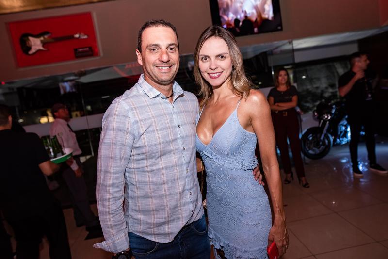 José Luiz e Elisa Miranda