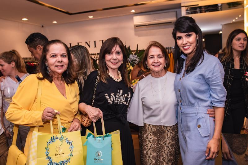 Fernanda Laprovitera, Carmen Ines, Lenita Negrao e Flavia Laprovitera