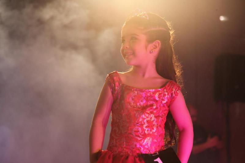Vencedora Mini Miss Gisele Amistade