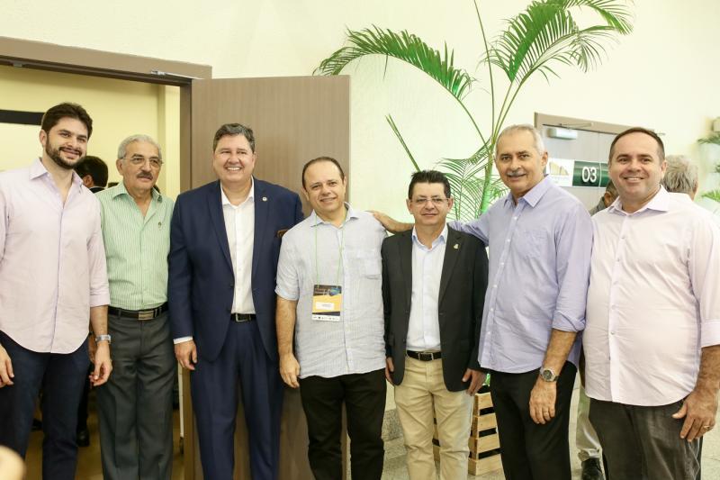 Guilherme Landim, Walter Cavalcante,Romeu Adiguere, Claudio Pinho,Jeoava Mota, Nezinho Farias e Renan Lima