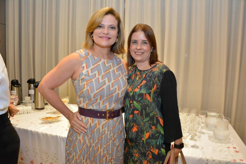 Mirian Saraiva e Rocaia Coelho