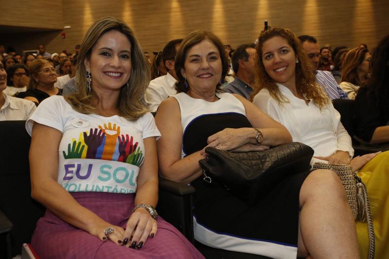 lilia Fontele, Ana Maria Studart e Ticiana Queiroz