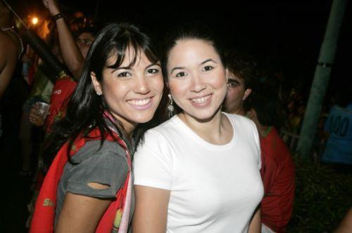 Juliana Ferrac e Carol Yamazaki