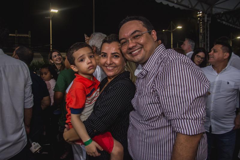 Pedro, Neila Torres e Roberto Lima