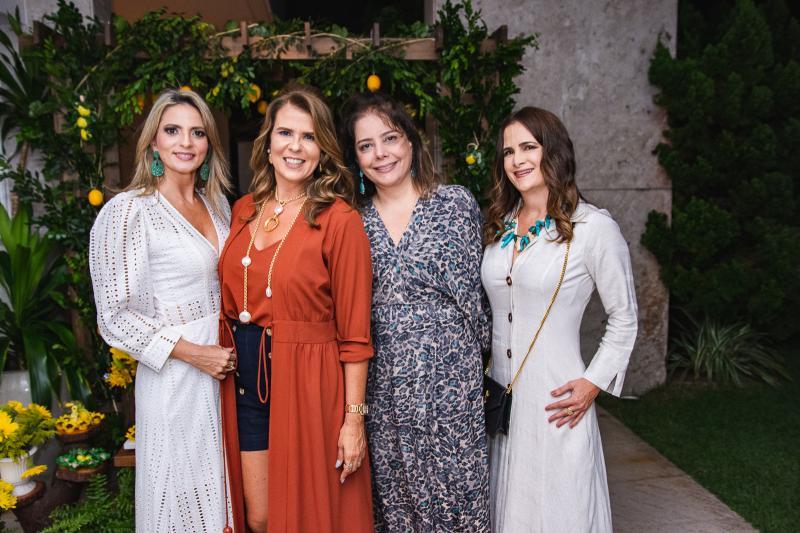 Michelle Aragao, Alexandra Pinto, Claudia Gradvohl e Adriana Bezerra