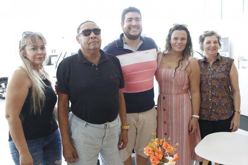 Elisa Moraes, Jose, Joel e Elisana Myra e Ana Azevedo