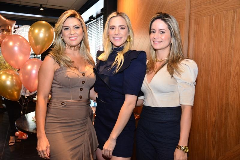 Erika Gomes, Martinha Freire e Lilian Fontele