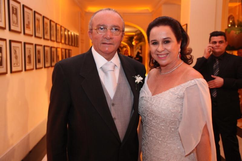 Cesar Asfor e Magda Rocha