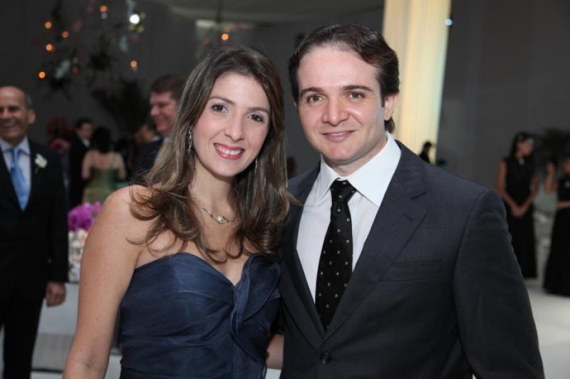 Erika Baquit e Leonardo Holanda