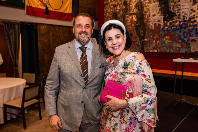 Vittorio Ghia e  Patricia Al Kary