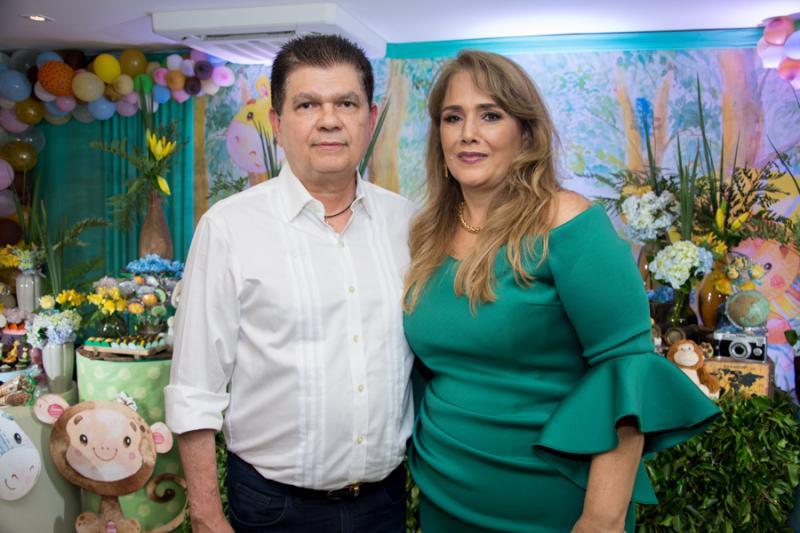 Mauro Filho e Mariza Benevides