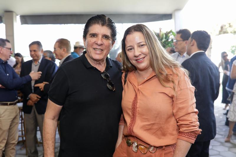 Dito Machado e Rubi Araujo