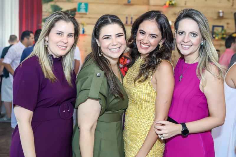 Adriana Loureiro, Cristina Joca, Bia Bezerra e Aline Amorin
