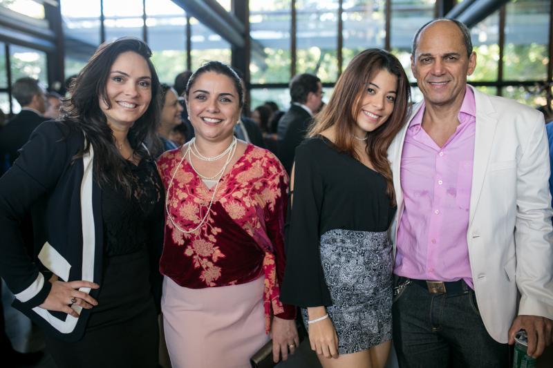 Juliana Pinheiro, Adriana Gomes, Ingrid Medeiros e Mano Alencar