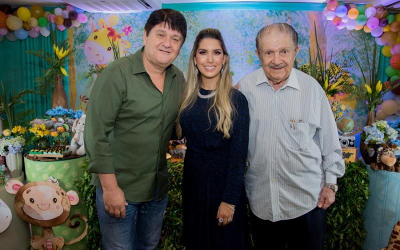 Afonso, Georgeanne e Mauro Benevides