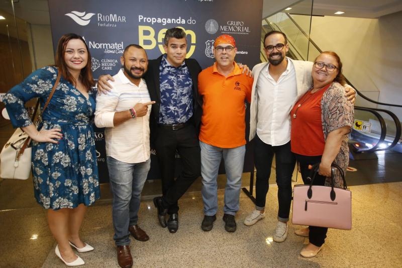 Jamile Guimaraes, Narcilio Oliveira, Vladson Cysne, Nelson Massambane, Tavinho Brigido e Ebemistes Vasconcelos