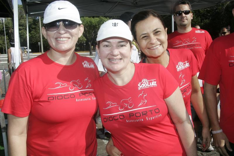 Monica Menescal, Liliane Aguiar e Veronica Rufino