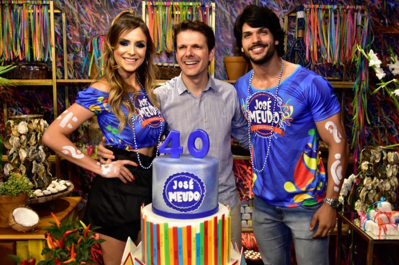 Ana Lucia Vilela, Jose Meudo e Lucas Fernandes