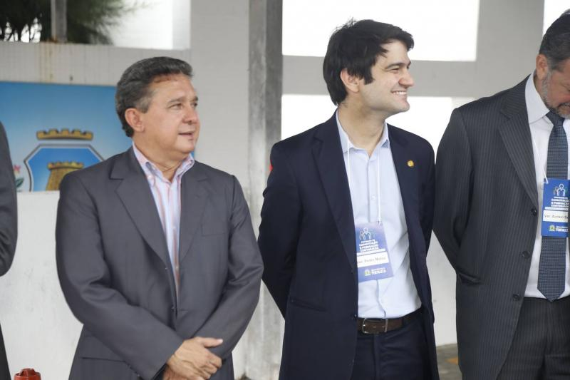 Jose Porto e Pedro Gomes de Matos