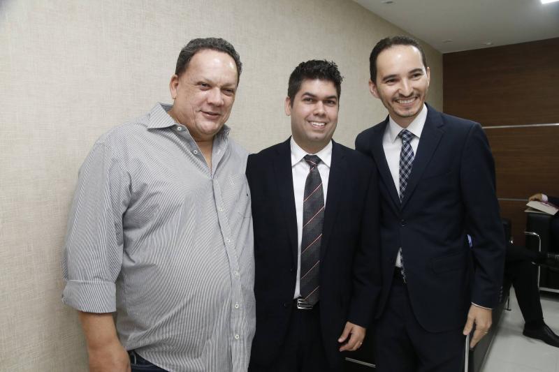 Lailtinho Brega, Mauro Benevides Neto e Pedro Henrique