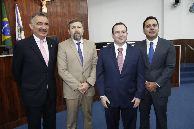 Artur Bruno, Elcio Batista, Igor Barroso e Roberto Costa