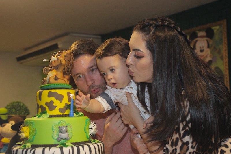 MINI SAFARI - Vítor e Danielle Araújo celebram o primeiro ano de Vítor Filho com festa em clima de Safari