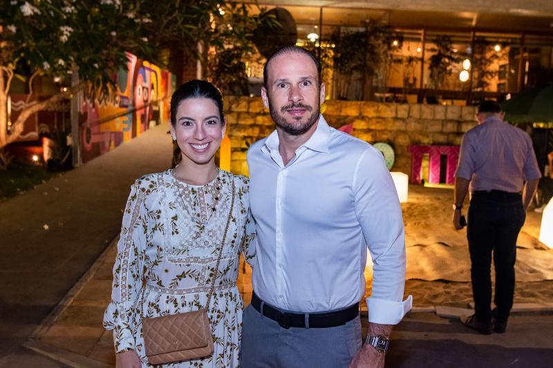 Ticiana e Andre Parente