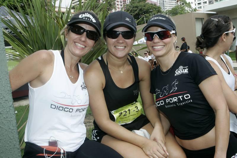 Patricia Nogueira, Juliana Lima e Carol Barreira