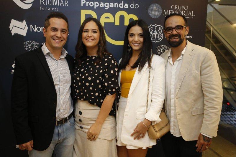 Boas notícias que transformam - Tavinho Brígido e Diego Braga pilotam o lançamento do projeto Propaganda do Bem