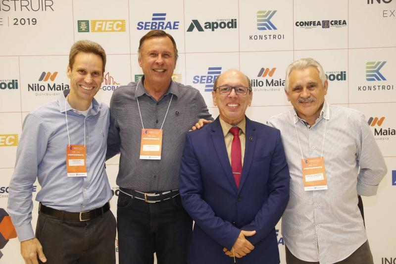 Jorge Dantas, Jose Simoes, Andre Montenegro e Emanuel Capistrano