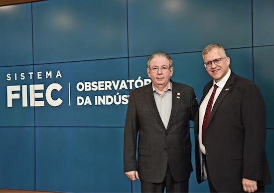 Ricardo Cavalcante fala sobre novos negócios com o cônsul dos EUA