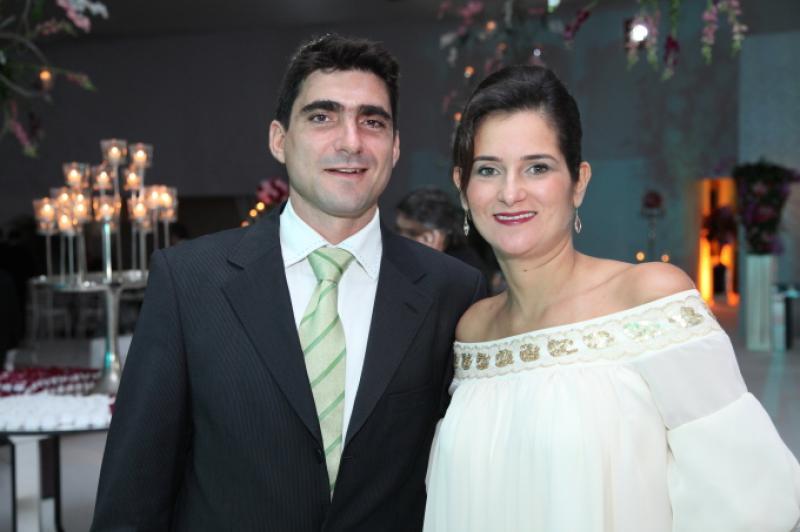 Agustin Herrero e Cecilia Seligmann