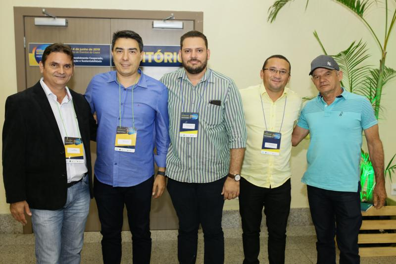 Dinho Nunes,Castro Junior, Vasconcelos Junior,Cosmo Rodrigues e Erondes Lima