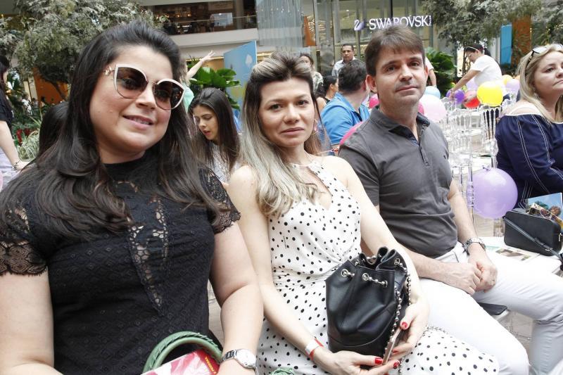 Marilia Luna, Fernanda e Rodrigo Guilhon