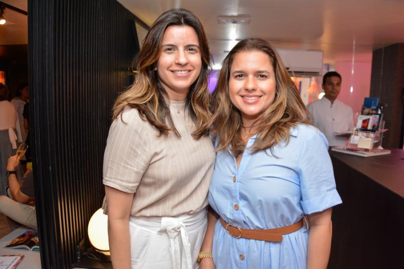 Raquel Fechine e Renata Dias