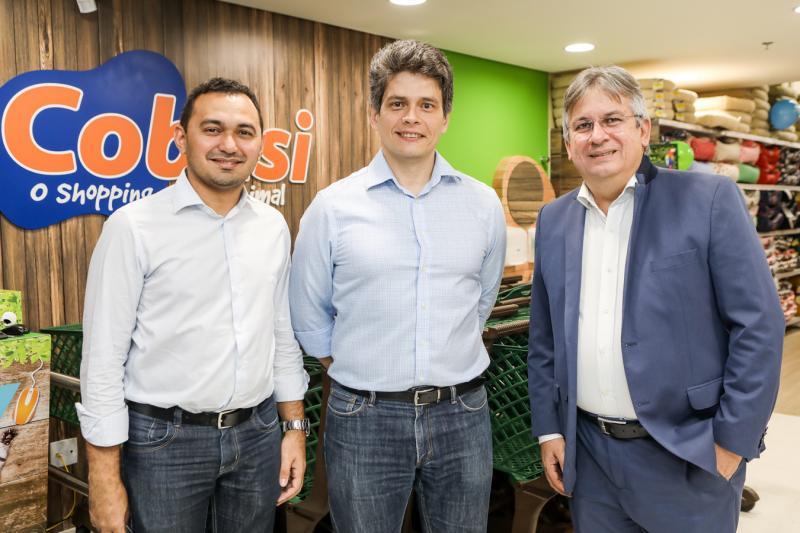 Cleber Monteiro, Fabricio Cavalcante e Artur Valente