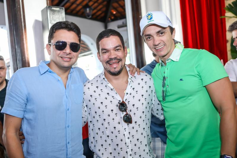 Wilian Bezerra, Kaka Queiros e Marcelo Marfrutas