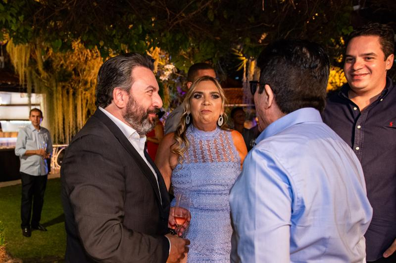 Mario Sergio Garcia,  Paula Athayde, Dito Machado e Thiago Holanda