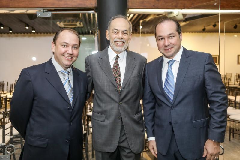 Ariston Pessoa, Inacio Arruda e Joaquim Araujo