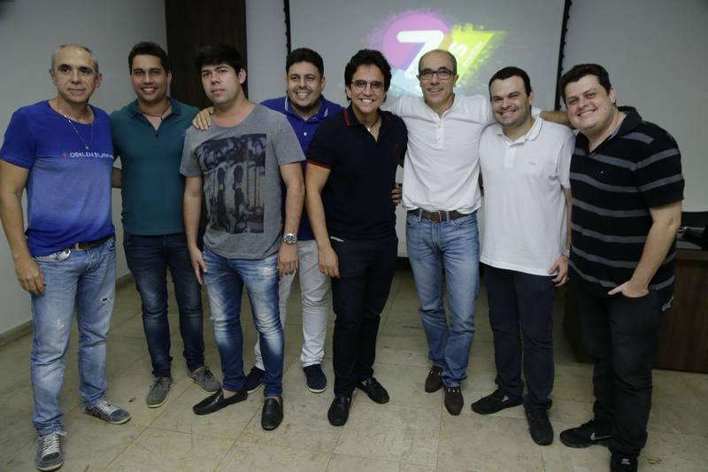 Douglas Santos, Olavo Egydio, Kleryston Pontes, Evertin Silveira, Panta Neto, Betinho Santos, Eugenio e Fernando Parente