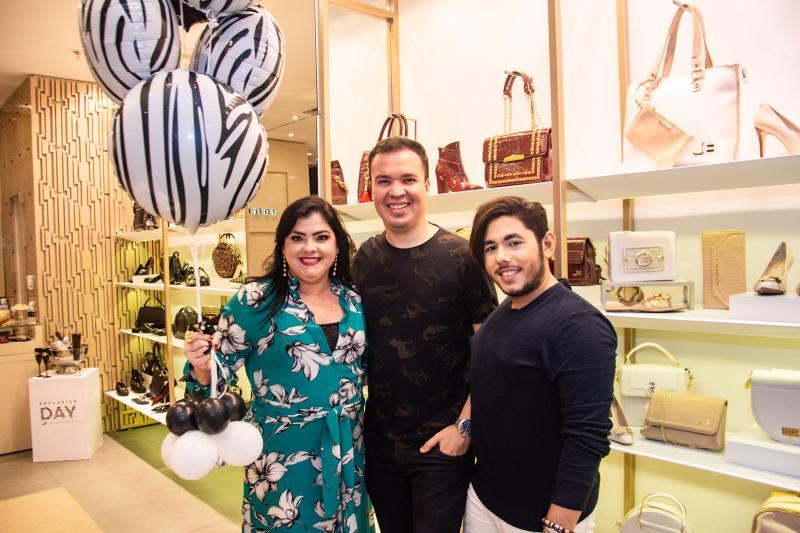 Viviane Almada, Philippe Felix e Theo Macmillan